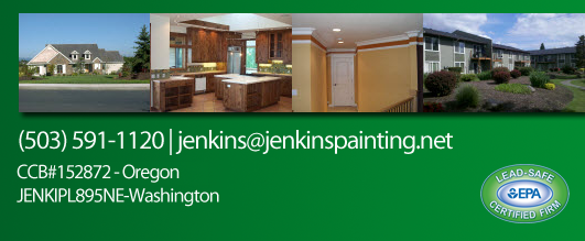 Jenking Painting, LLC  Residential and Commercial Painting Since 1998